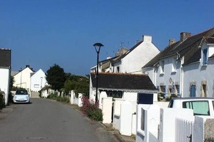 Maison de village en bord de mer