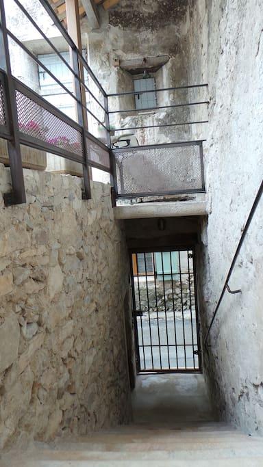 L'entrée côté Grande Rue