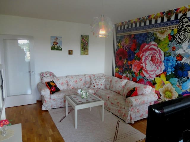 Cosy and large apartment near city center