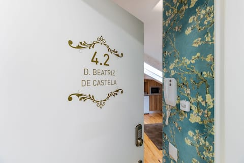 """Estúdio 4.2 """" D. Beatriz de Castela """""""
