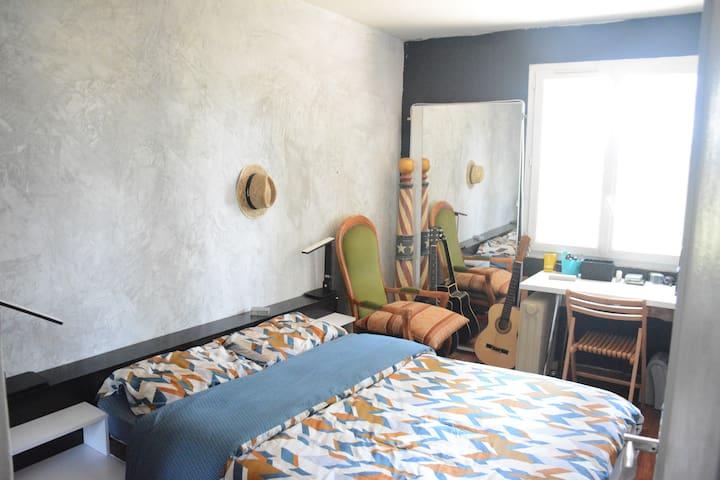 Chambre à louer dans appart lumineux, confortable