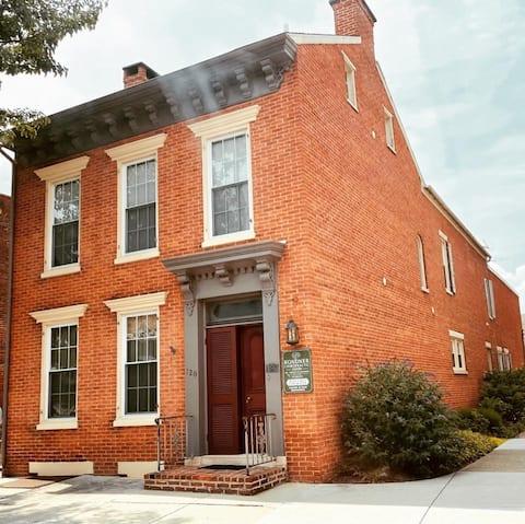 The Historic Red Brick Loft