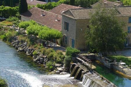 moulin de l'aqueduc - Fontaine-de-Vaucluse