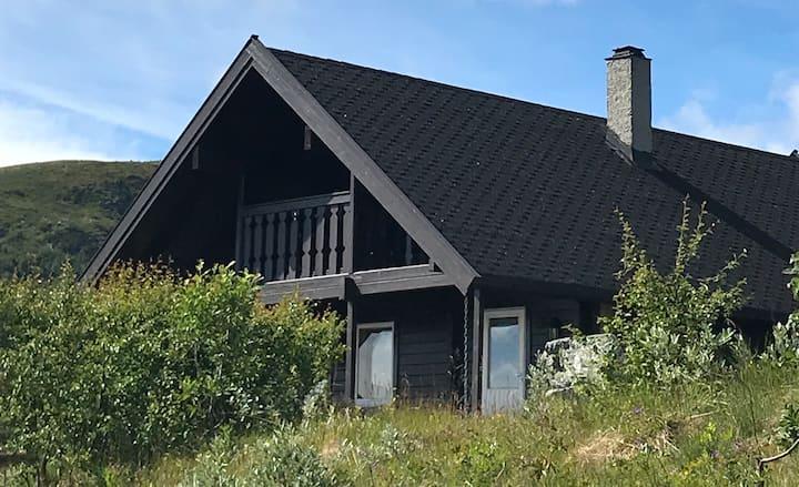 Hytte med flott utsikt