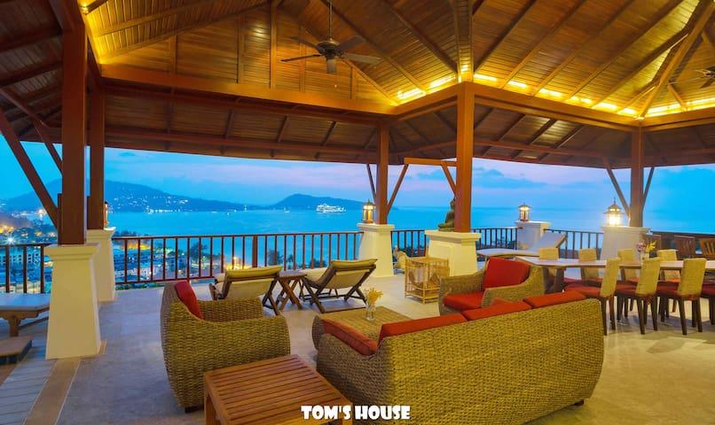 300m to Patong Beach/ Sea view/ Pool Villa/B4