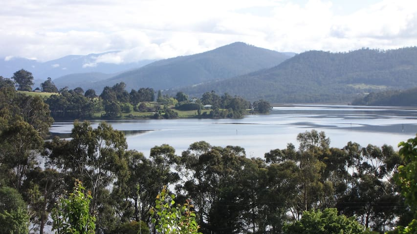 Huon River Cottage - Castle Forbes Bay - Huis