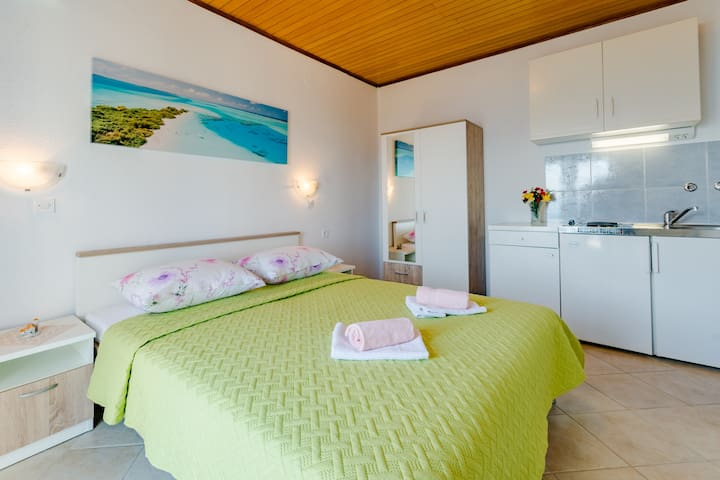 Sani - Double Room with Terrace and Sea View(S3)