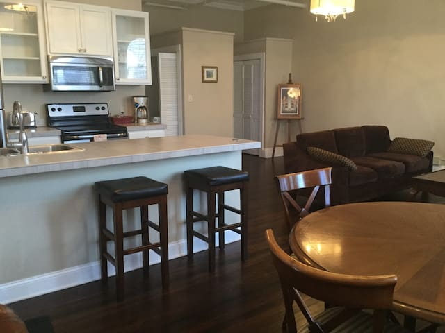 Large Lofty 1 Bdr in Center Sq. w/ Parking - Albany - Leilighet