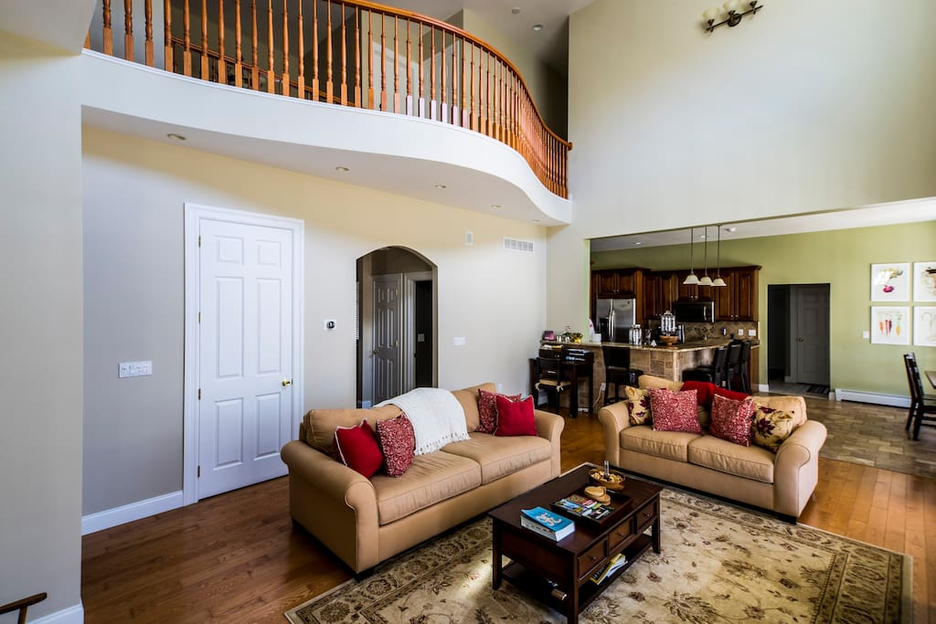 Family room with ample seating