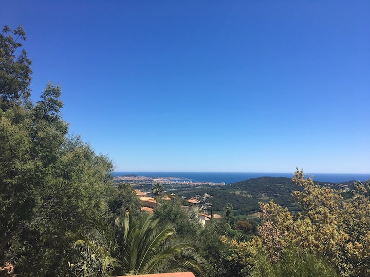 Studio vue mer et montagne Costa Brava