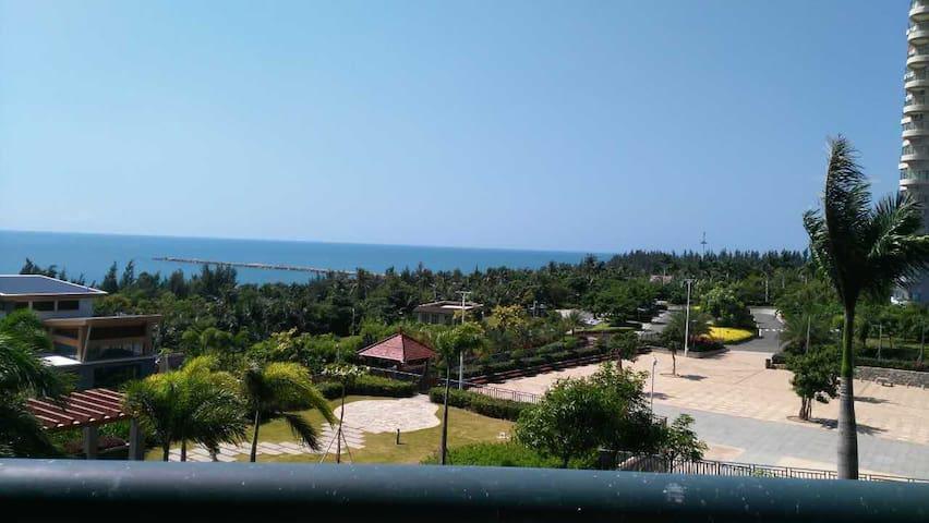 龙栖湾一线海景舒适度假房离三亚凤凰机场60公里 - Ledong - Apartamento