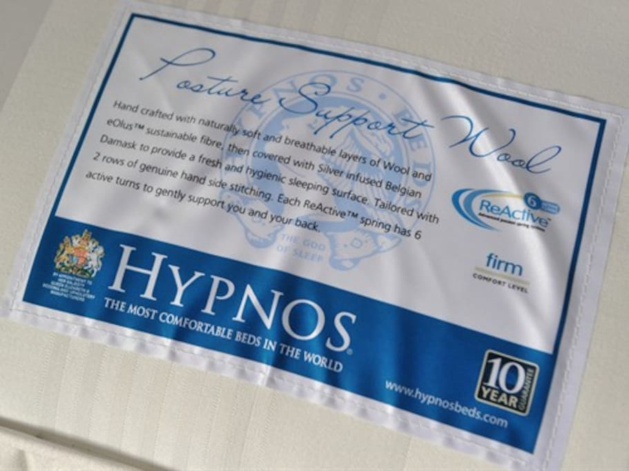 Sleep well on our Hypnos beds - The Most Comfortable Beds in the World.