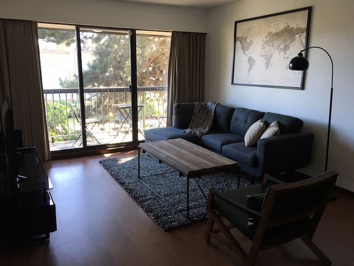 Mid Century Modern Suite Across VGH