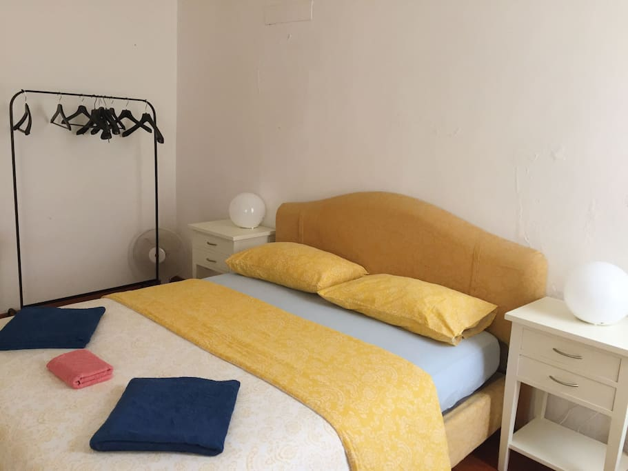 First bedroom - Double bed