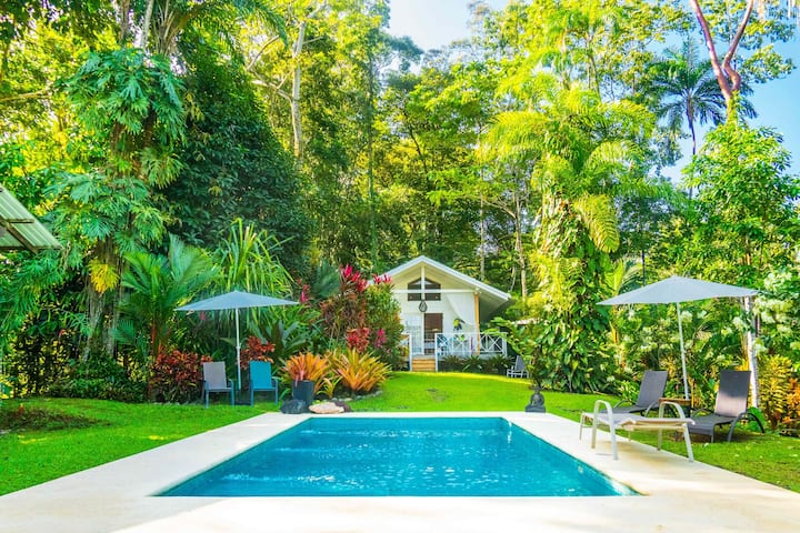 The White Cottage, Punta Uva Beach, Costa Rica