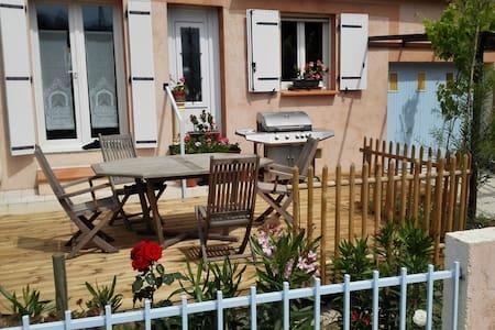 Maison 2 ch/5 pers, 2 terrasses, vue sur Canigou - Prades - 獨棟