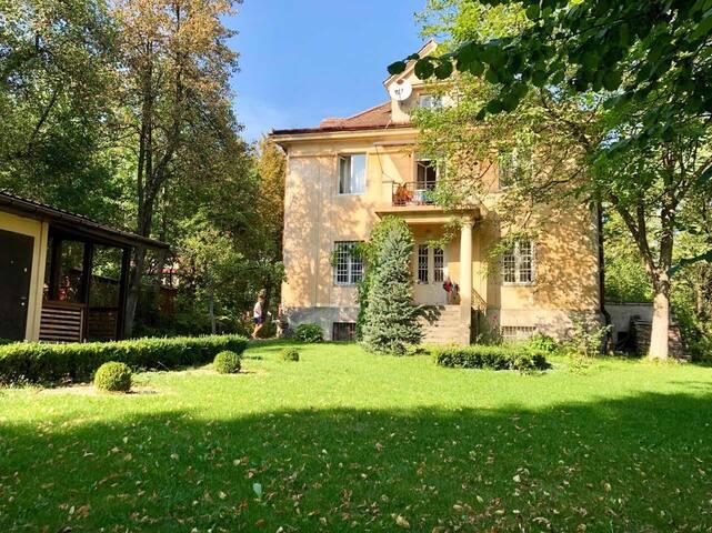 3rooms Apartment with Garden on P.Myrnogo