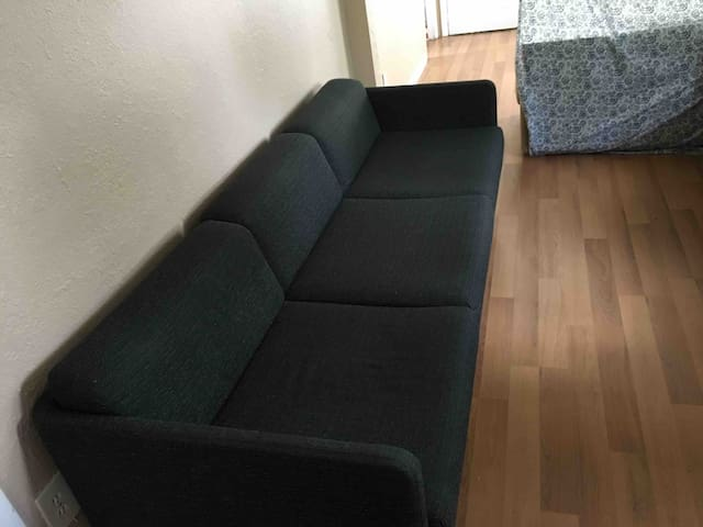 Artist Chill Spot - Grey Comfy Couch