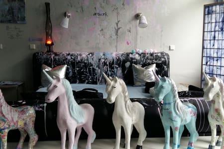Einhorn- Kunst- Atelier,  mit eigenem Eingang - Wuppertal