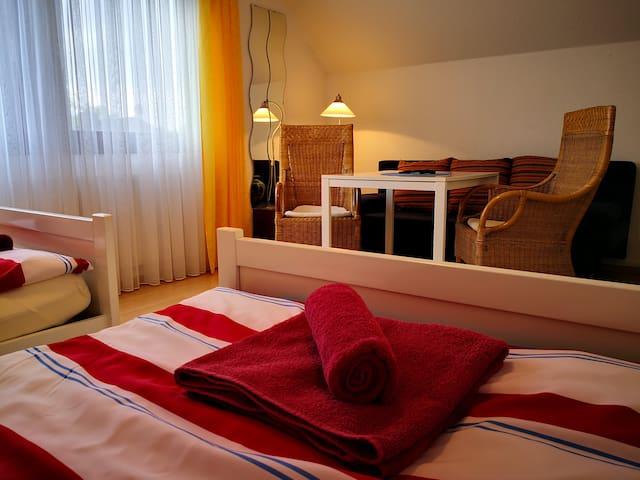 Stadtnahes Zimmer in Niendorf