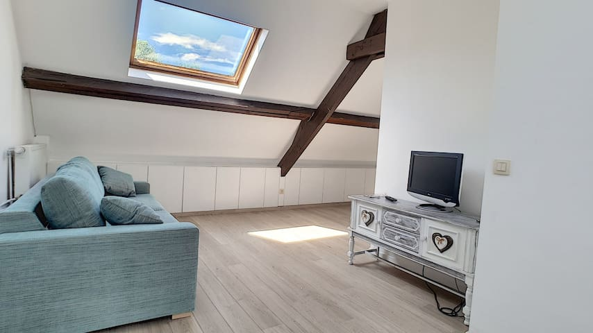 Linkebeek: cosy apartment 10 min from Brussels