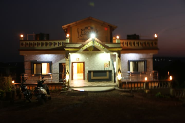 Valley view rooms at Mahabaleshwar - Bondarwadi - Daire