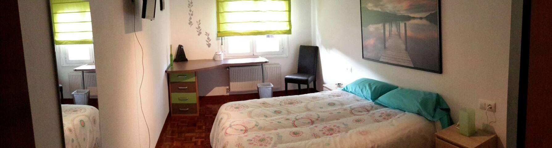 Moderno piso en Miribilla y garaje - Bilbo - Apartemen