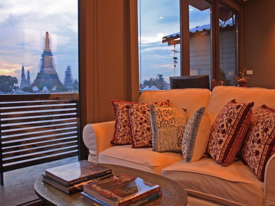 Wat Arun view