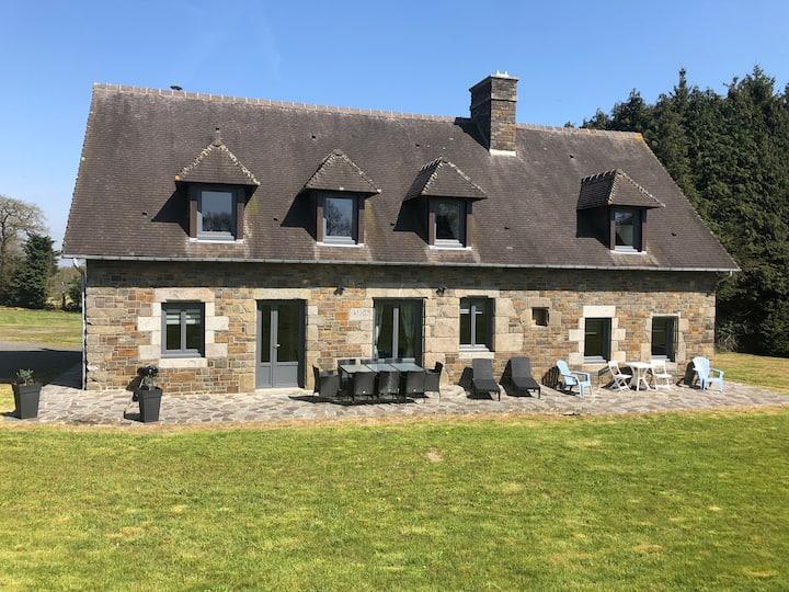 La Landerie, maison familiale à la campagne
