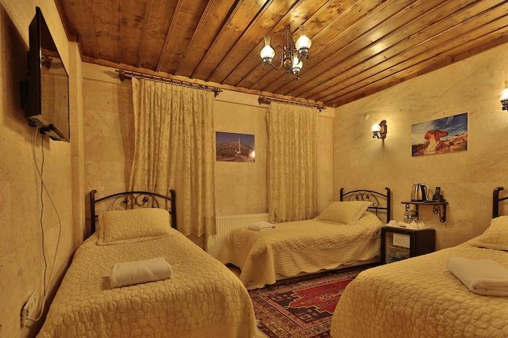 Goreme Cave Rooms Stone Triple Room