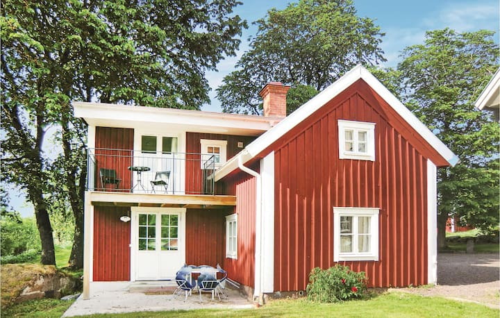 Awesome home in Ödeshög with WiFi and 3 Bedrooms