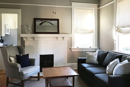 Charming Intown Apartment, Upstairs