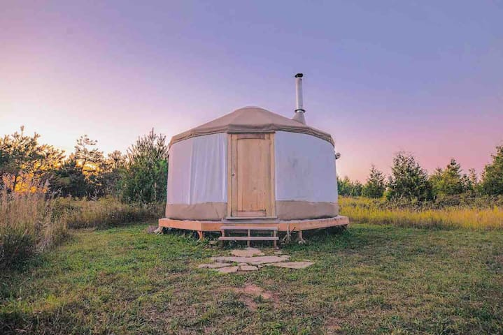 Isolation Yurt Cabin on 100 acres