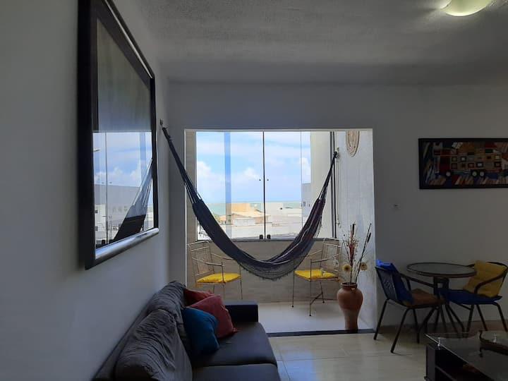 Quarto vista mar, perto Shopping Riomar