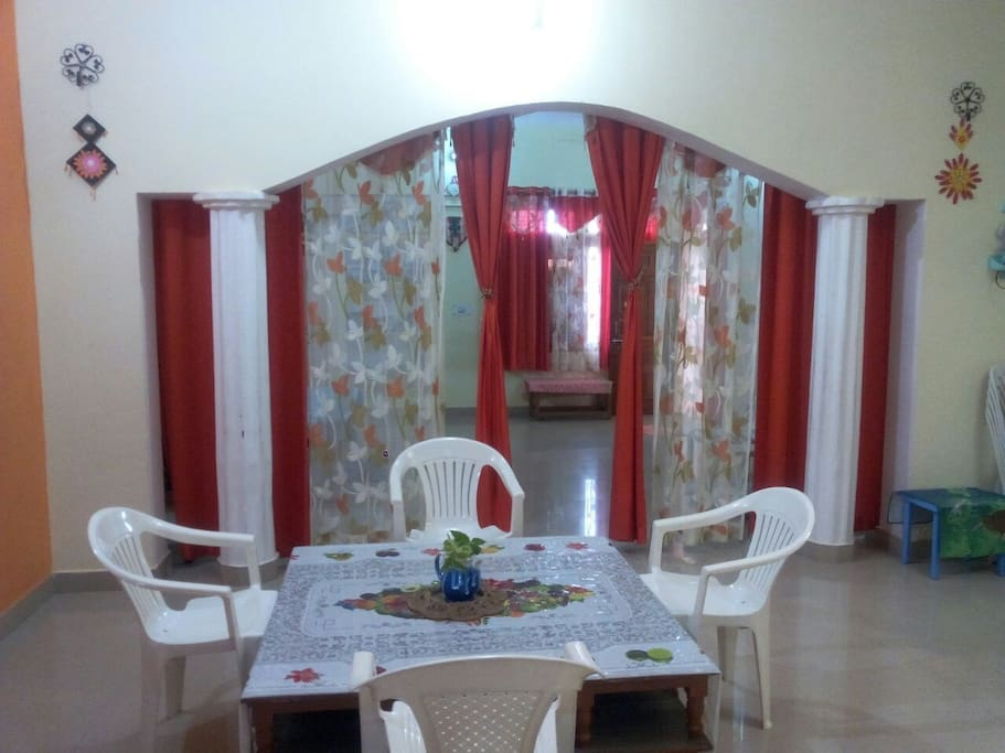 Entrance room and common space