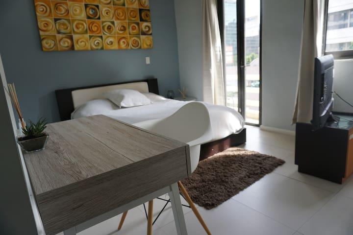 Preciosa y moderna habitación privada en Polanco