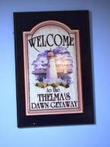 Thelma's Dawn Getaway