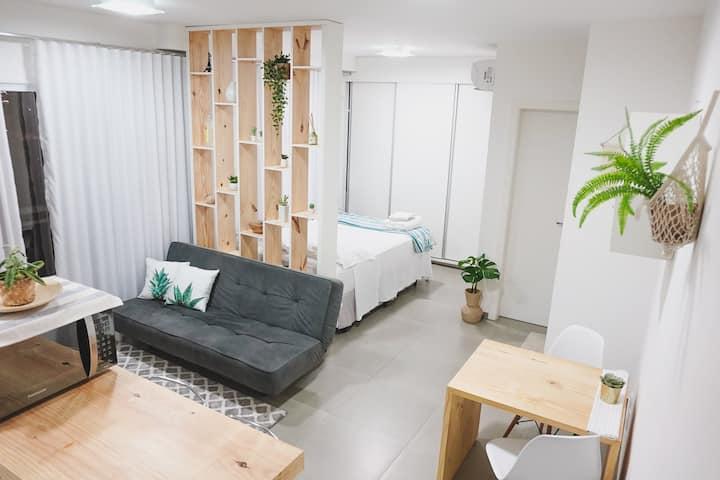 Studio - Localização privilegiada! 600m Shopping