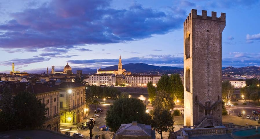 Private single room & private bathroom in Florence