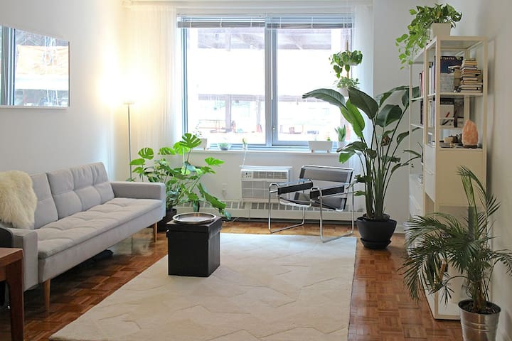 New, spacious, minimal 1 BR apt in Lincoln Center - New York - Appartement