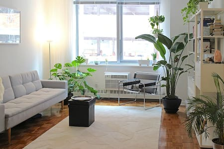 New, spacious, minimal 1 BR apt in Lincoln Center - New York - Wohnung