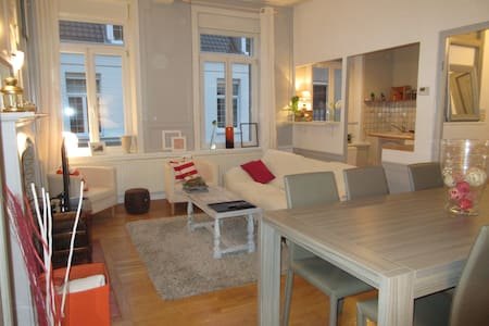 Appartement confortable en plein centre ville - Gravelines - Apartmen