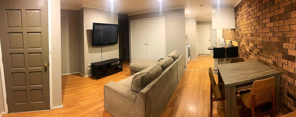 2 Bedroom Unit. Perfect for singles or group stays