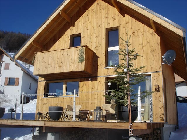 JOLI CHALET BOIS 120 m2 STATION LES KARELLIS - Montricher-Albanne - Xalet