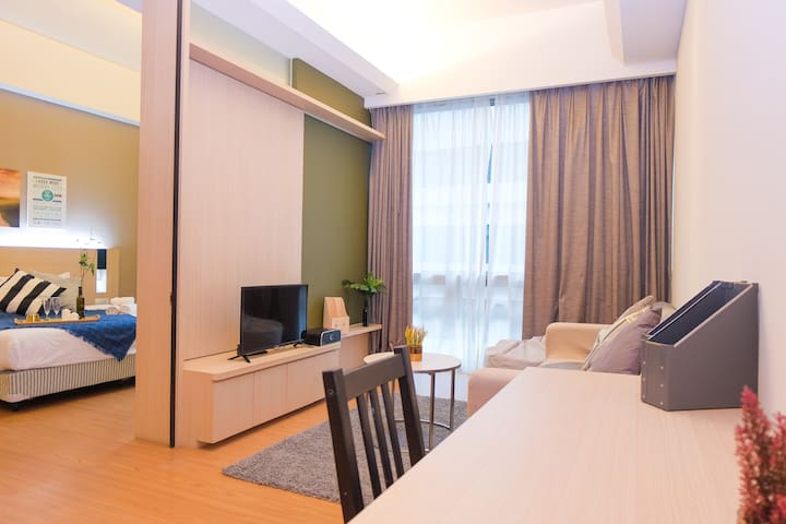 Comfy & Cosy 1BR Suite in Kuala Lumpur City Center