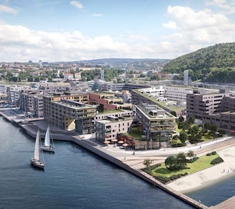 New, modern desig, centrum downtown and city bath - Oslo - Appartamento