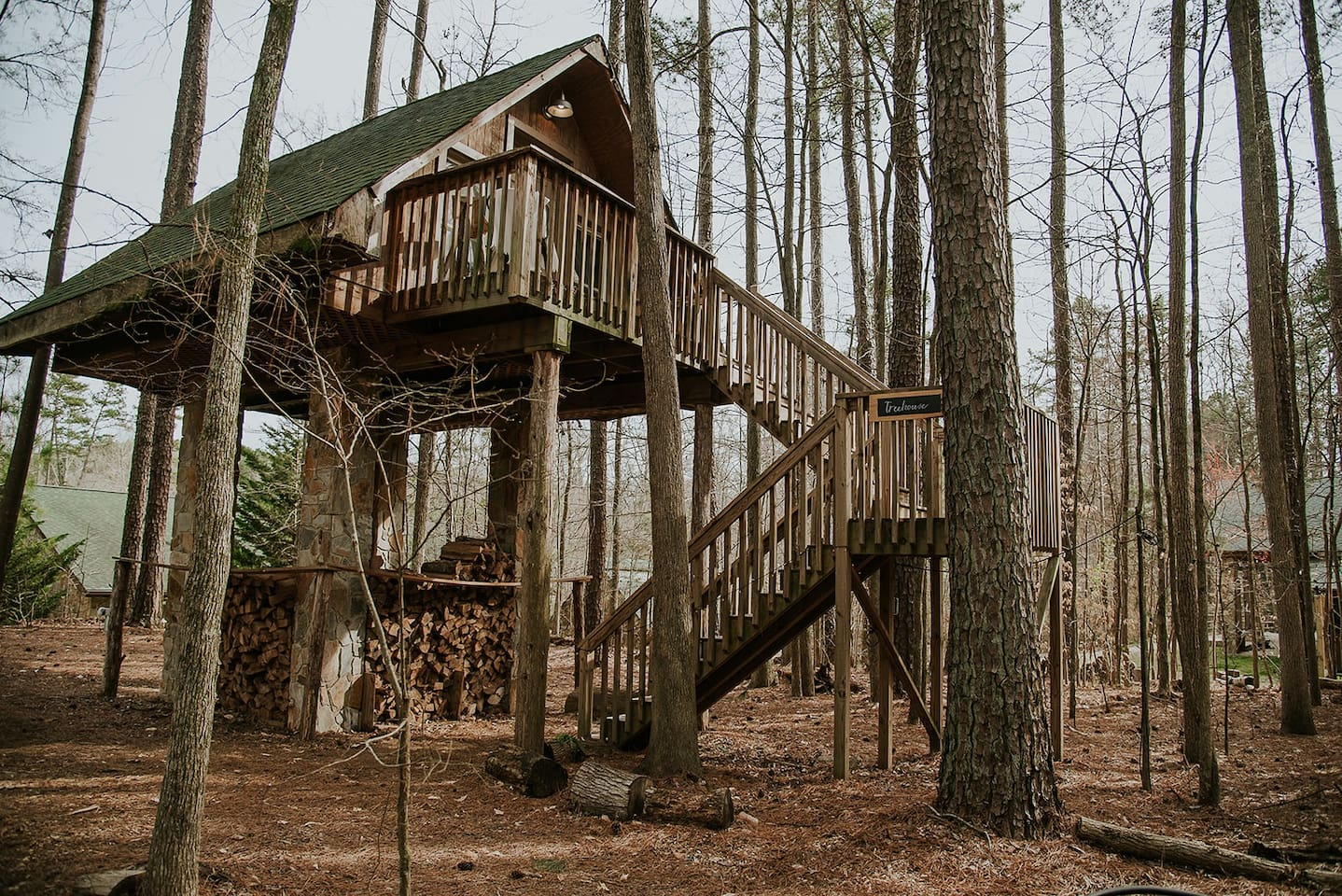 Treehouse Glamping Concord North Carolina Airbnb