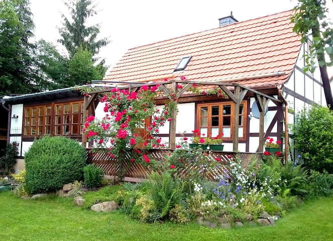 Little gingerbread house, Reinhardshagen, Weser