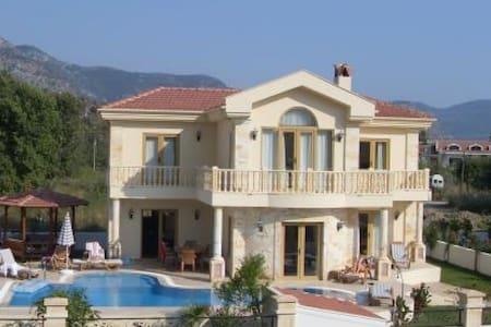 OD433-Dalyan Maraş 4 Roomed Villa - Dalyan Belediyesi