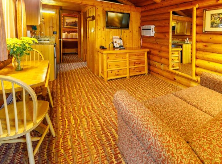 King Deluxe Log Cabin